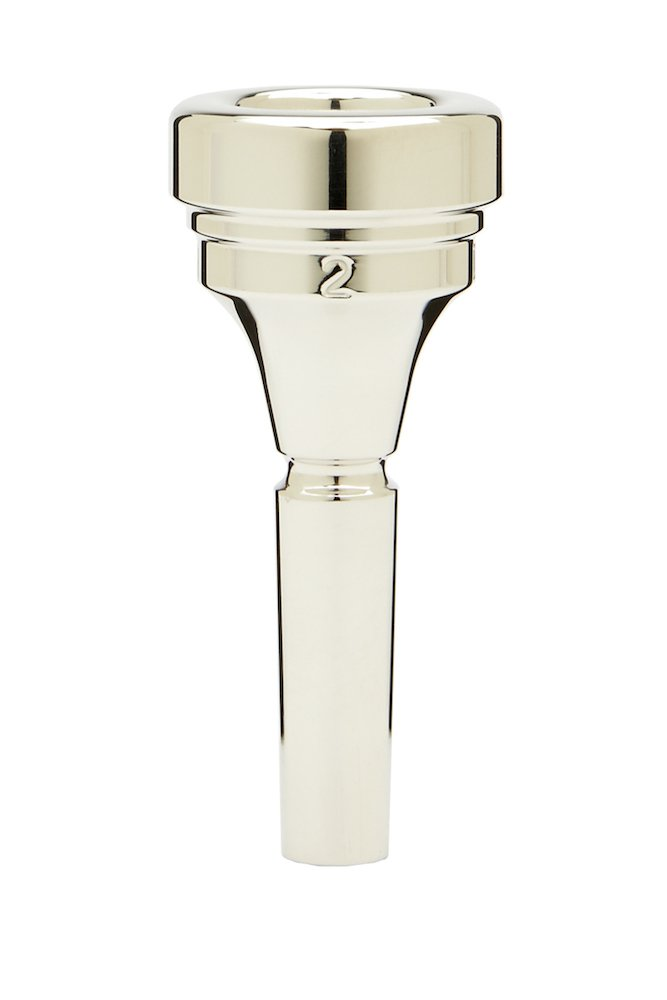 Denis Wick 2 Silver-Plated Alto Horn Mouthpiece DW5883-2