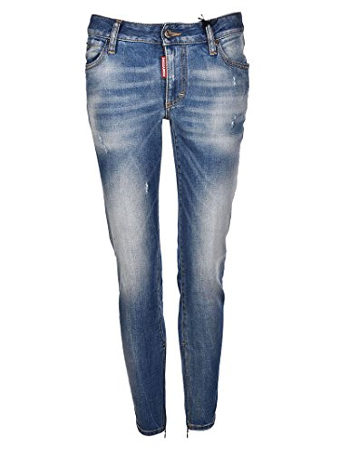 Donna Waist Light Medium Dsquared2 Twiggy Jeans qnBwx7x