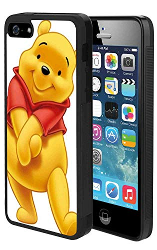 (DISNEY COLLECTION Phone Case Compatible for iPhone 5 (2012) iPhone 5S (2013) iPhone SE (2016) (5.5inch) Bear Pooh Winnie The 2)