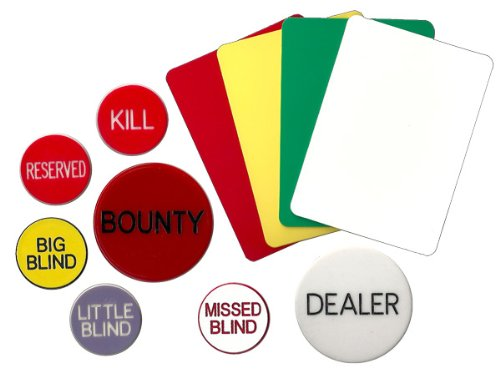 144 Mixed Decks Casino Playing Cards Used In Real Nevada Casinos - Free Bounty Button Kit