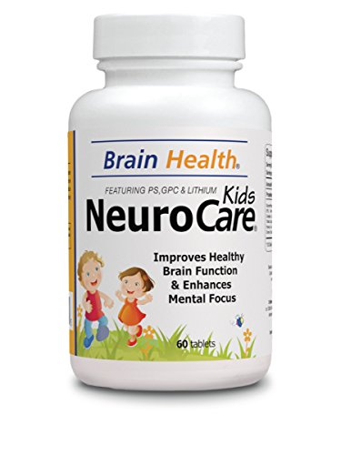 Neuro Care Kids - Brain Health 60 tablets - Highly Concentrate Supplent - Dietary Supplement