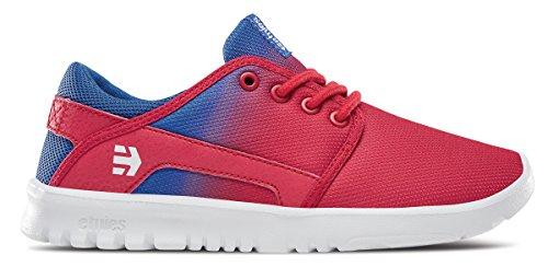 Skate Blue Red Shoe Scout Etnies Kids' White IXxOO6wEq
