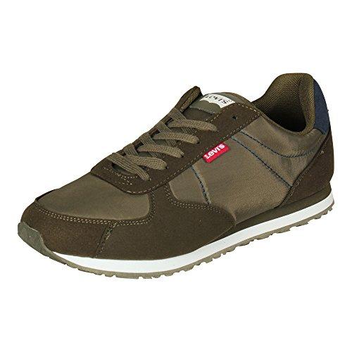 Levi's Dark Running Khaki Eagle Sneaker Herren Oliv axvqa0