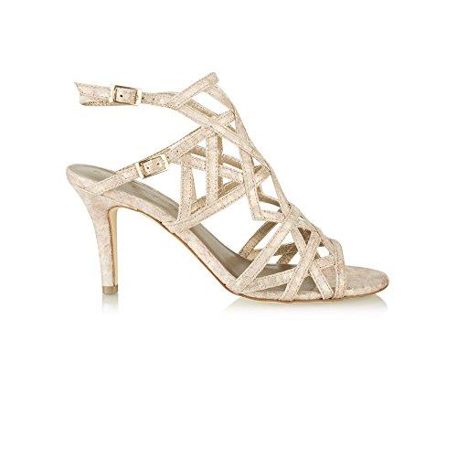 Wortmann GmbH & Co. 11 28019 38 953 - Sandalias de vestir para mujer gold,bronce