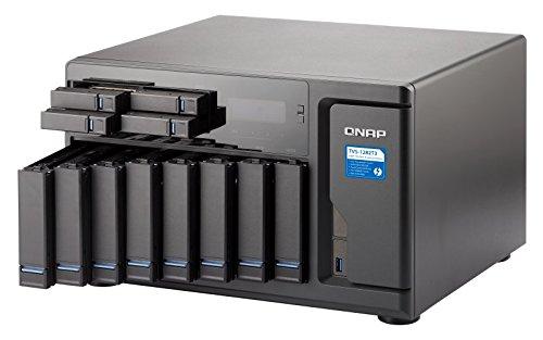 Qnap TVS-1282T3-i5-16G-US Ultra-High Speed 12 bay (8+4) Thunderbolt 3 NAS/iSCSI IP-SAN. Intel 7th Gen Kaby Lake Core i5 3.4GHz Quad Core, 16GB RAM, Thunderbolt3 port x 4 and 10Gbase-T x 2 by QNAP (Image #2)