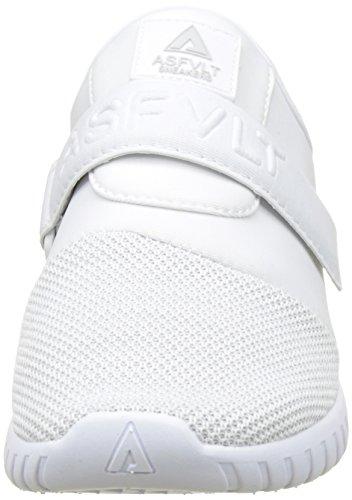 Asfvlt Area V, Basse Unisex - Adulto Blanc (White Nimbus)
