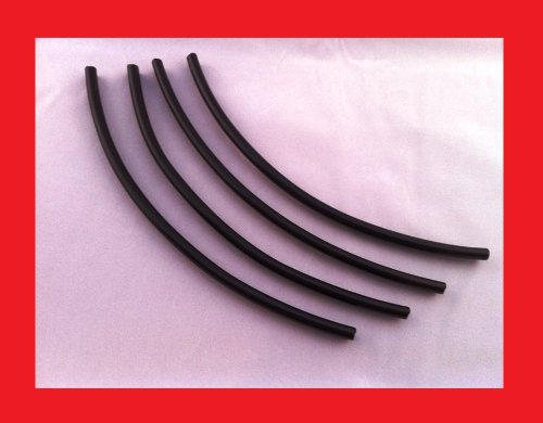 "Pontiac 8"" Black Door Edge Guard Trim Molding All Models D.I.Y. Kit Quantity 4"
