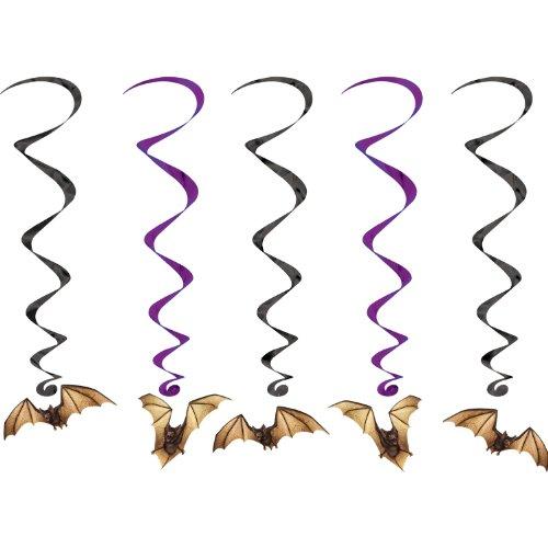 Beistle 00782 Bat Whirls Pkg