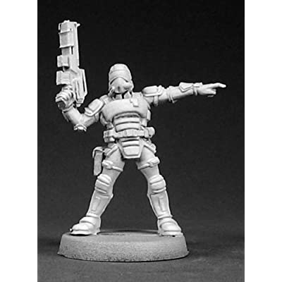 Reaper Miniatures 50005 Nova Corporate Security Sergeant: Toys & Games