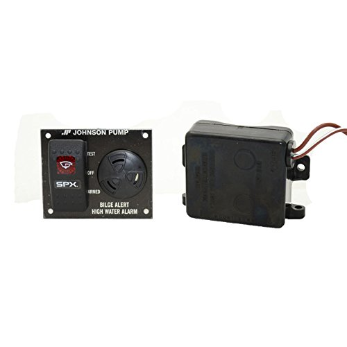 Johnson Pumps 72303-001 Bilge Alert High Water Alarm with Ultima Switch, 12V