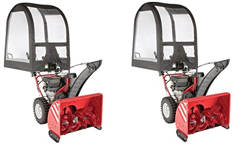 Arnold Deluxe Universal Snow Thrower Cab (Pack of 2) by Arnold