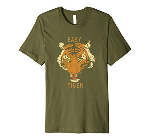 Mens Easy Tiger Graphic T-Shirt XL (Tiger Graphic T-shirt)