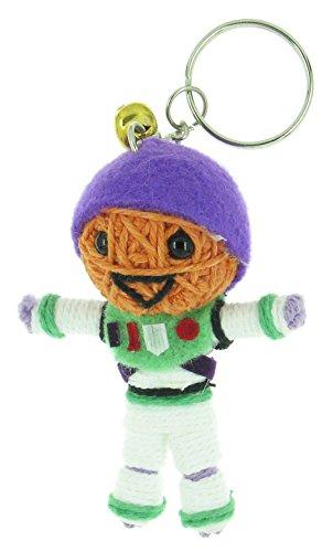 Buzz Lightyear Voodoo String Doll Keyring Keychain
