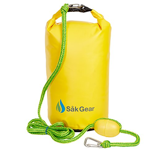 Ski Doo Pwc (SandSak Premium PWC Sand Anchor | Heavy Duty 500D PVC | High Visibility Braided Rope & Buoy | Stainless Steel Clips | Ideal For Kayaks & SUP)
