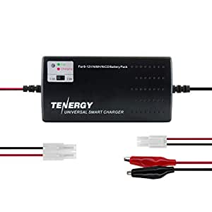 Amazon.com: Cargador de batería universal Tenergy ...