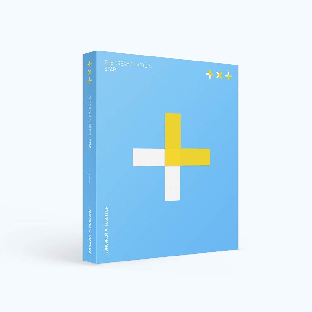 K-POP Tomorrow X Together(TXT) [The Dream Chapter : Star] Music CD + PhotoBook + 3 Photocards + 2 Sticker Packs + Folded Poster + Extra Photocard Set + Tracking Number KPOP Sealed by TXT