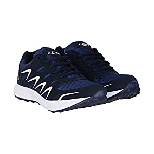 Lancer Navy-White Running Shoes