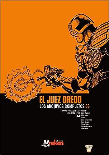 Juez Dredd. Los Archivos Completos 06: Amazon.es: Wagner ...