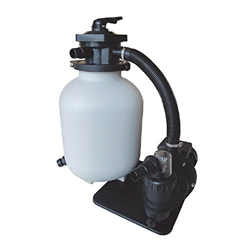 550/W Pompe 10m³//h 550W RD376 60/m/³ AQUAFORTE sq460/Junior Kit de Filtre /à Sable pour Piscine Pompe 10/m/³//h