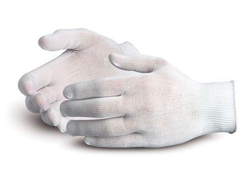 [Superior STN120 Superior Touch Ultra Thin Nylon String Knit Glove with Knit Wrist Cuff, Work (Pack of 1 Dozen)] (Nylon Glove Liners)