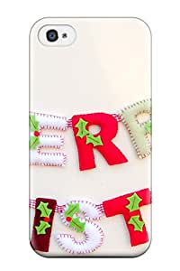 Hot Design Premium DSKEcrg9656cMjns Tpu Case Cover Iphone 4/4s Protection Case(get Together This Christmas)