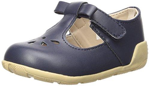 6086 Mary Jane Flat, Navy, 9 Child US Toddler ()