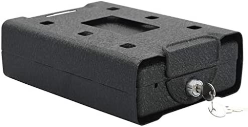 N/O Viel Spaß beim Einkaufen mit Autotresor Schwarz 21,8 x 16 x 7 cm Stahl