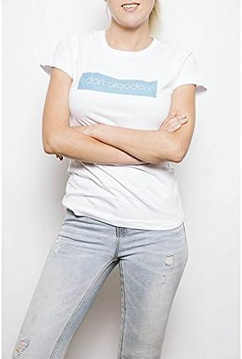 DON ALGODON MODA Camiseta Don Algodon Blanca Mujer Don Algodón ...