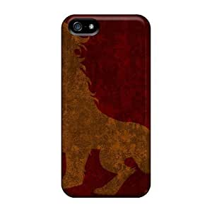 Hot Design Premium GFs5532msPM Cases Covers Iphone 5/5s Protection Cases(lionsbadges)