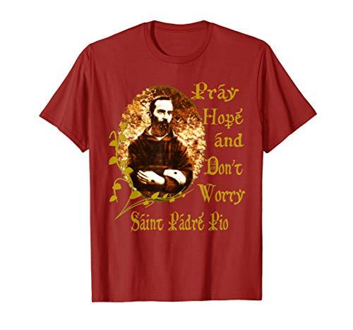 Padre Pio T-Shirt Saints T-Shirt Catholic T-Shirt