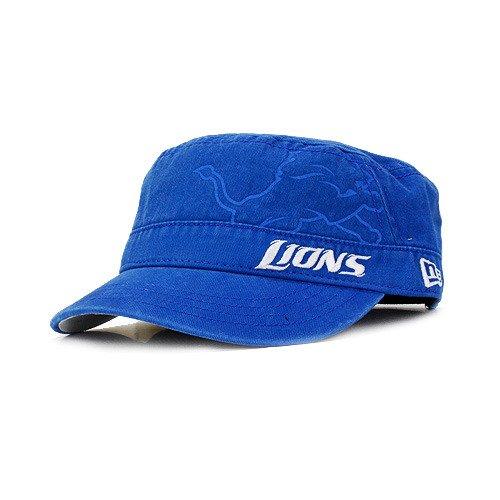 NFL Detroit Lions Goal-2-Go Women's Military Cap, Blue, One Size Fits All