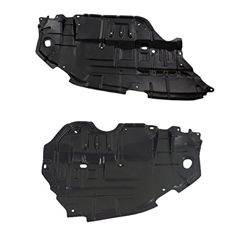 (Koolzap For 12 13 14 Camry Front Engine Splash Shield Under Cover Guard Right Left PAIR )