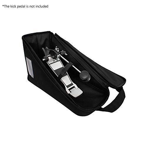 Kalaok Single Pedal Bag Leather Protection Drum Kick Pedals Carrying Case Percussion Accessories