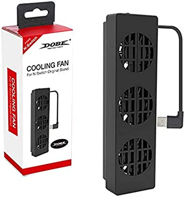 Lightweight Cooling Fan for N-Switch Stand Game Console Dock