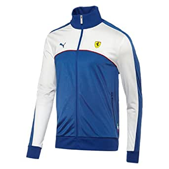 Puma Ferrari Men's SF Track Jacket (XX-Large, Mararine Blue)