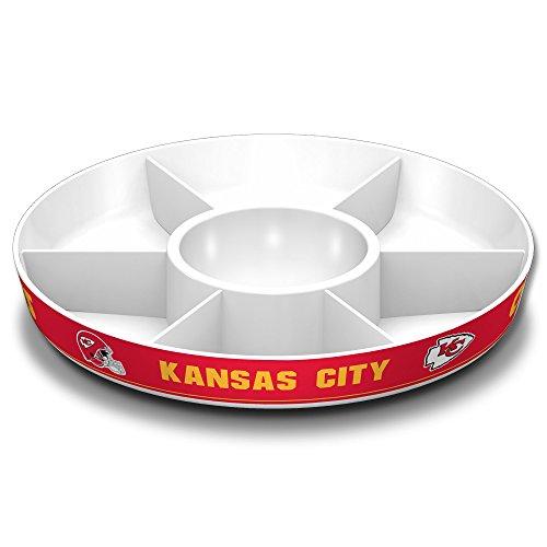 (Fremont Die NFL Kansas City Chiefs Party Platter,)