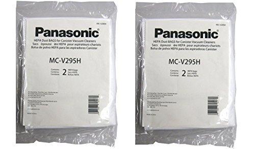 Panasonic MC-V295H Type C-19 Canister HEPA Vacuum Bag, Pack