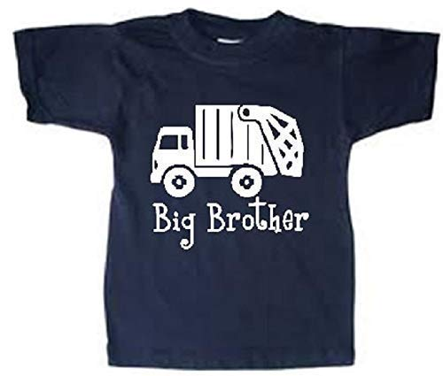 big brother trash truck toddler shirt boys garbage truck tshirt