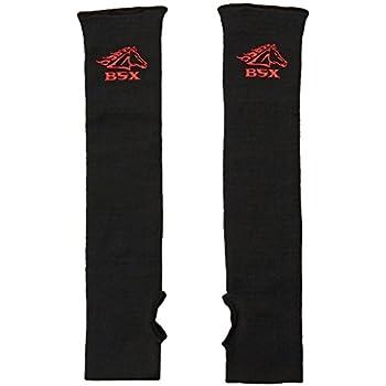 BSX Gear Revco Industries BX-KK-18T Double Layer, Cut Resistant Kevlar Sleeves, 18'' L, Black