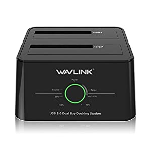WAVLINK HDDスタンド USB3.0接続 2.5型 / 3.5型 SATA HDD/SSD対応