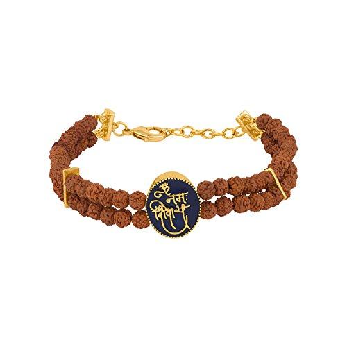 Dare by Voylla Mahadev Two Beaded String Om Namah Shivay Bracelet Jewelry Gift for Him, Boy, Men, Father, Brother, Boyfriend (B079HZJQ57) Amazon Price History, Amazon Price Tracker