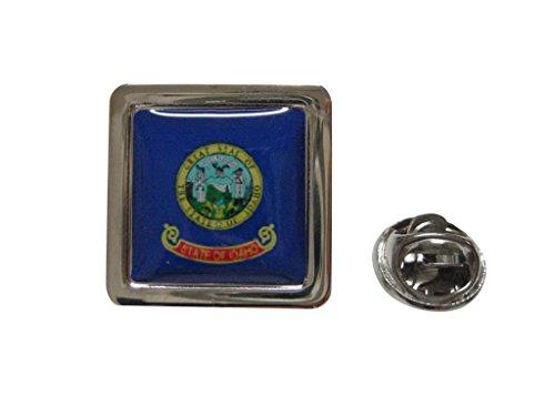 - Idaho Flag Design Lapel Pin