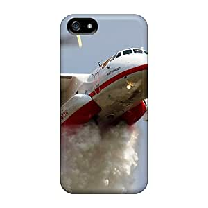 Case Cover Firefighter Airplane In Action/ Fashionable Case For Iphone 5/5s