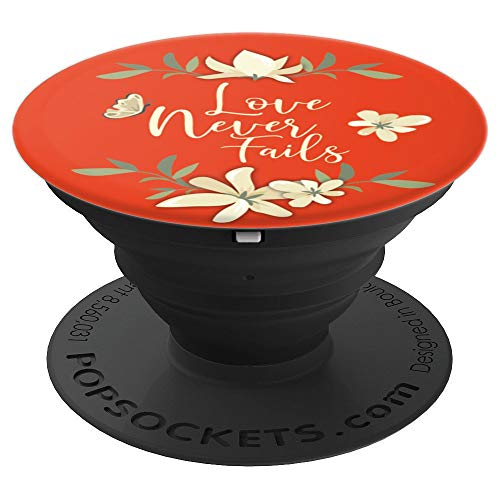Love Never Fails Paradise Blossoms JW 2019 Convention - PopSockets Grip and Stand for Phones and Tablets