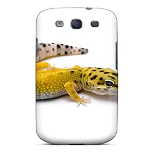 Durable Hard Phone Covers For Samsung Galaxy S3 (pkt1137BJCo) Allow Personal Design High-definition Leopard Gecko Pattern