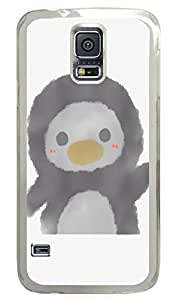 Brian114 Samsung Galaxy S5 Case, S5 Case - High Impact Defender Case for Samsung Galaxy S5 Adorable Penguin Fashion Print Patterns Clear Hard Case for Samsung Galaxy S5 I9600