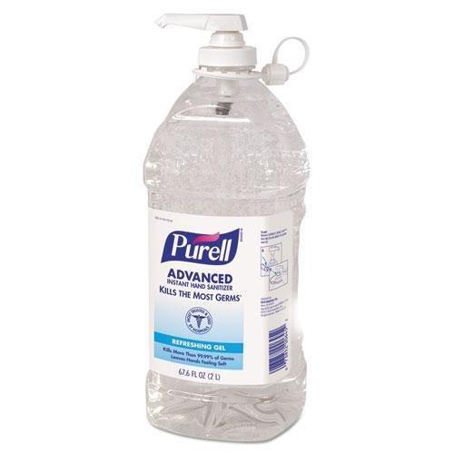 Go-Jo 962504EA Instant Hand Sanitizer, 2L Bottle by Gojo
