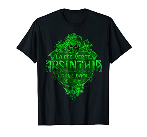 Absinthia-La Fee Verte/Green Fairy/Absinthe T-shirt