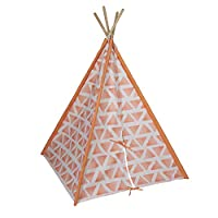 "Pacific Play Tents 39700 Peachy Dream Teepee - 45"" X 64"" High"