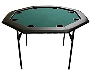 Amazon Com Versa Games 48 Quot Octagon Poker Table W Folding
